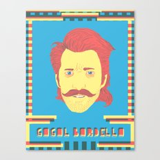 Gogol Bordello Canvas Print