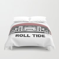alabama Duvet Covers featuring Alabama Print by EPAR College