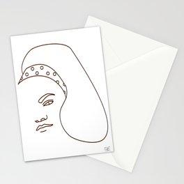 Eartha Kitt - White Stationery Cards