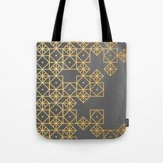 Geometric Gold Tote Bag