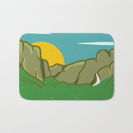 Yosemite Valley Bath Mat