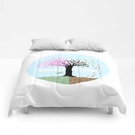 Seasons Change Comforters