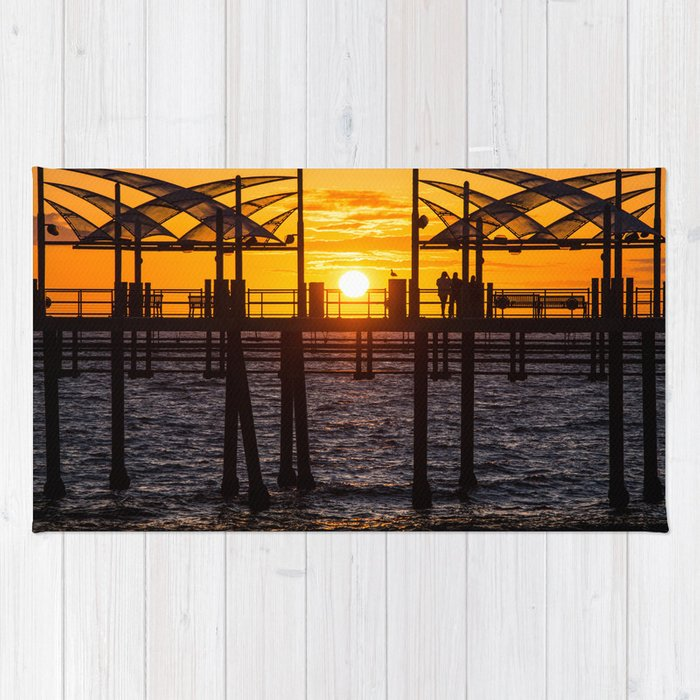 Watching The Sunset Rug