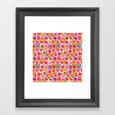 The Roses You Forgot Framed Art Print