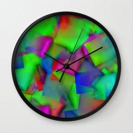 Softly cubism ... Wall Clock
