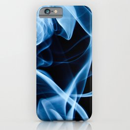 Blue Smoke iPhone Case