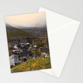 Independence Mine - Hatcher Pass, Alaska Stationery Cards