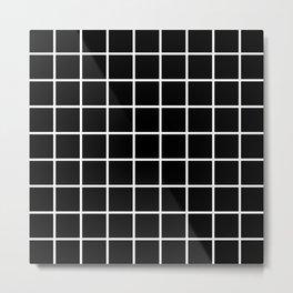 black cube Metal Print