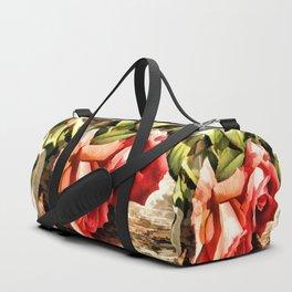 Timeless Tropicana Roses Duffle Bag