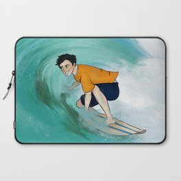 Percy Surfing Laptop Sleeve