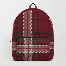 Hannibal Will Graham Aperitif Red Plaid Professor Design Backpack