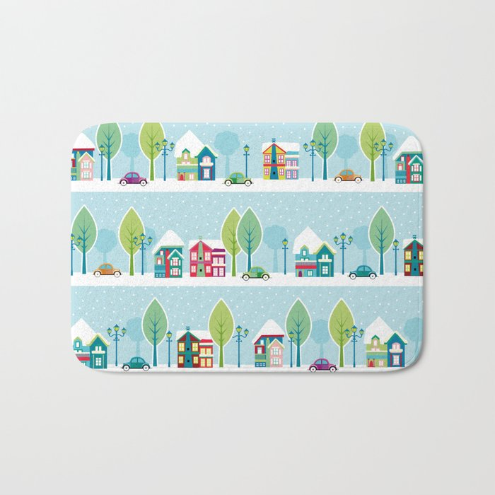 Ski house Bath Mat