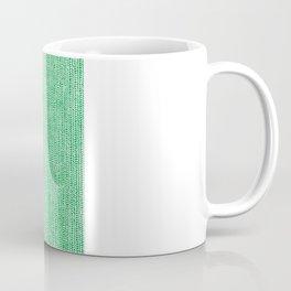 Stockinette Green Coffee Mug
