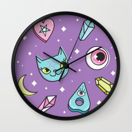 Girl Stuff Wall Clock