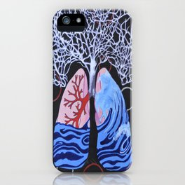 Feels Like I'm Drowning iPhone Case