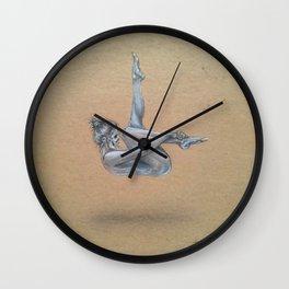 Nude Catrina Wall Clock
