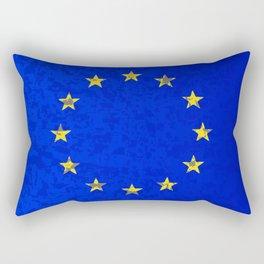 EU Flag Rectangular Pillow