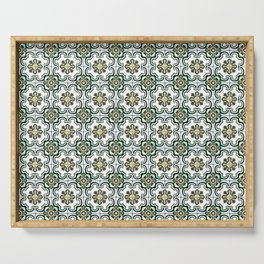 Floor Series: Peranakan Tiles 36 Serving Tray