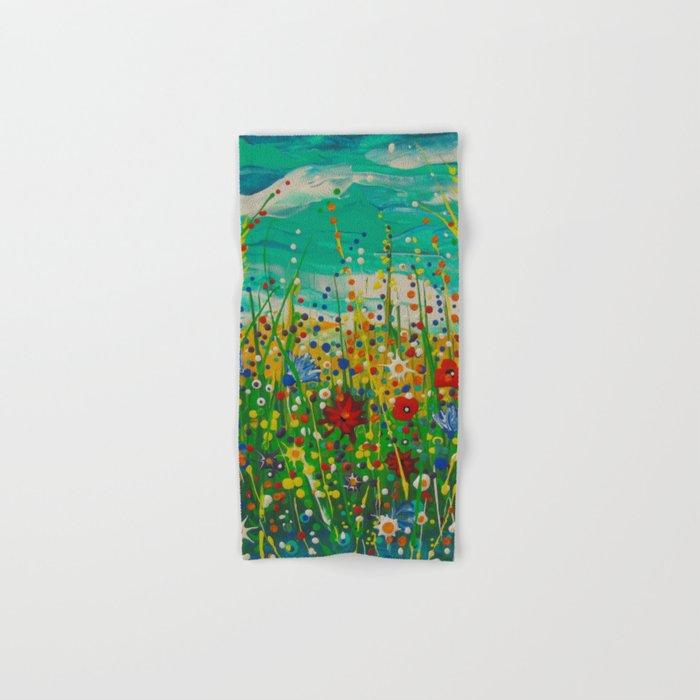 Flowers of happiness Hand & Bath Towel