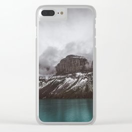 Landscape Maligne Lake Mountain View Photography | Alberta | Canada Clear iPhone Case
