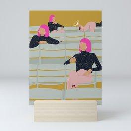 Time lapse  Mini Art Print