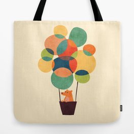 Whimsical Hot Air Balloon Tote Bag