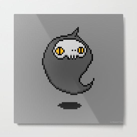 Ghost ( 8-bit ver. ) Metal Print