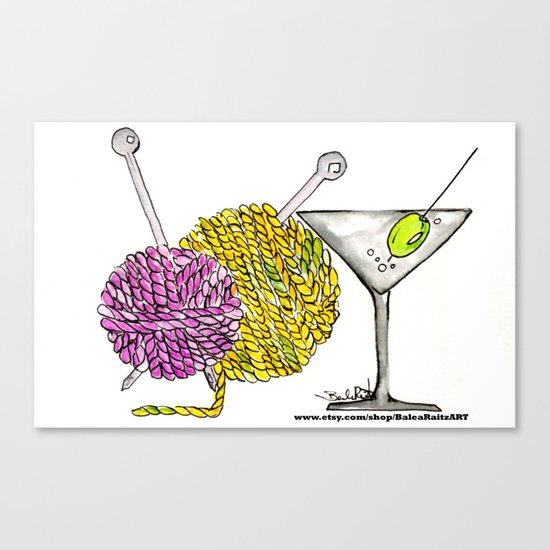 Craft & Cocktails  Canvas Print