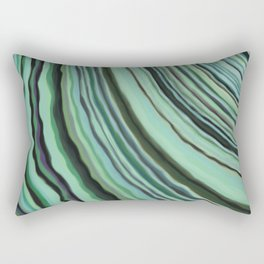 Mineralicious~Mint Tourmaline Rectangular Pillow