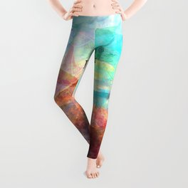 If You Can Take It, You Can Make It Uplifting Inspirational Quote With Beautiful Underwater Scene Pa Leggings
