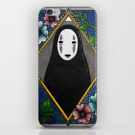 No Face iPhone Skin