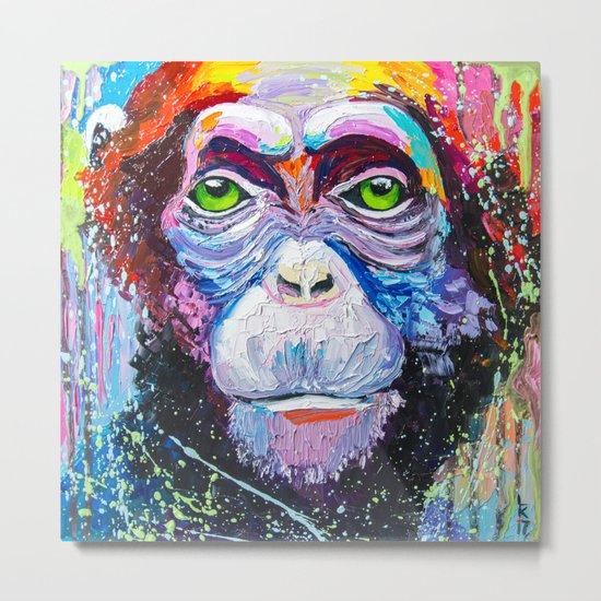 I'm chimpanzee! Metal Print