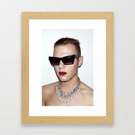 Call Me John Framed Art Print