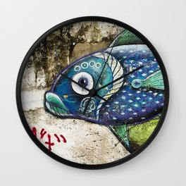 Fisheye Wall Clock