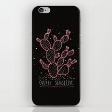 OVERLY SENSITIVE iPhone & iPod Skin