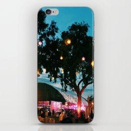 night ciircus iPhone Skin