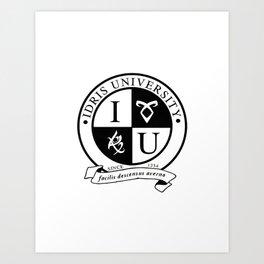 idris university Art Print
