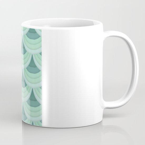 Ocean Fan Tail. Mug