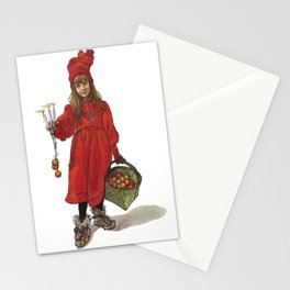 Iduna and Her Magic Apples Stationery Cards
