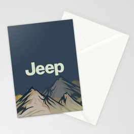 Jeep 'Mountain' Stone Stationery Cards