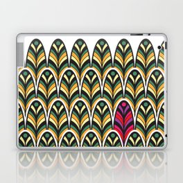 Rubine Feather Laptop & iPad Skin