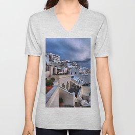Santorini 12 Unisex V-Neck