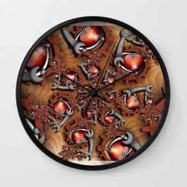 Heart's Mechanic Wall Clock