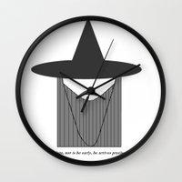 gandalf Wall Clocks featuring Gandalf Minimalist by Joe ettling