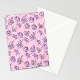 Rose pattern Stationery Cards