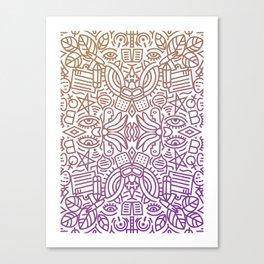 Decorative Pattern 2 Canvas Print