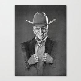 JR Ewing Canvas Print