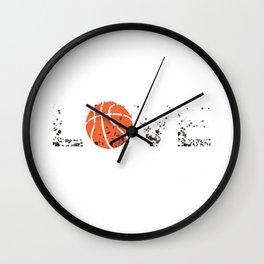 Basketball Love Triko Ball Gift Wall Clock