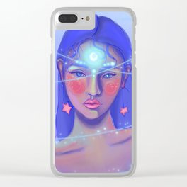 Lust Clear iPhone Case