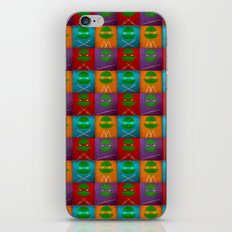TMNT Collection iPhone & iPod Skin